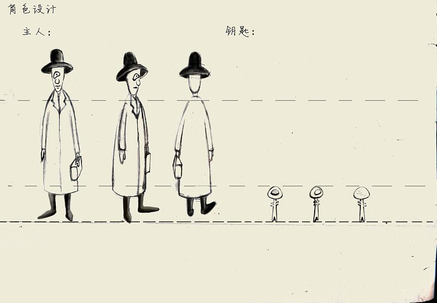 彩铅手绘动画《钥匙》|二维动画|动漫|陈女不