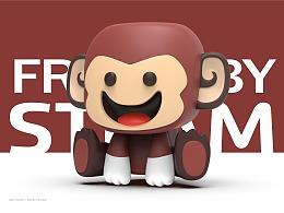 自由宝贝乐高STEAM品牌吉祥物定位及VIS系统-上海因心