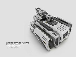KFGZ[玩具设计]模块化组装的玩具对战车设计