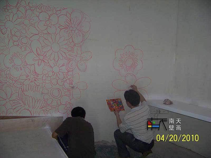 南天壁画出品:深圳圈子艺术酒店室内壁画,手绘油画,欧式油画,欧式壁画