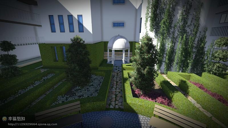 三亚中庭景观设计图片