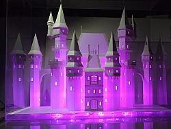 纸雕纸模城堡