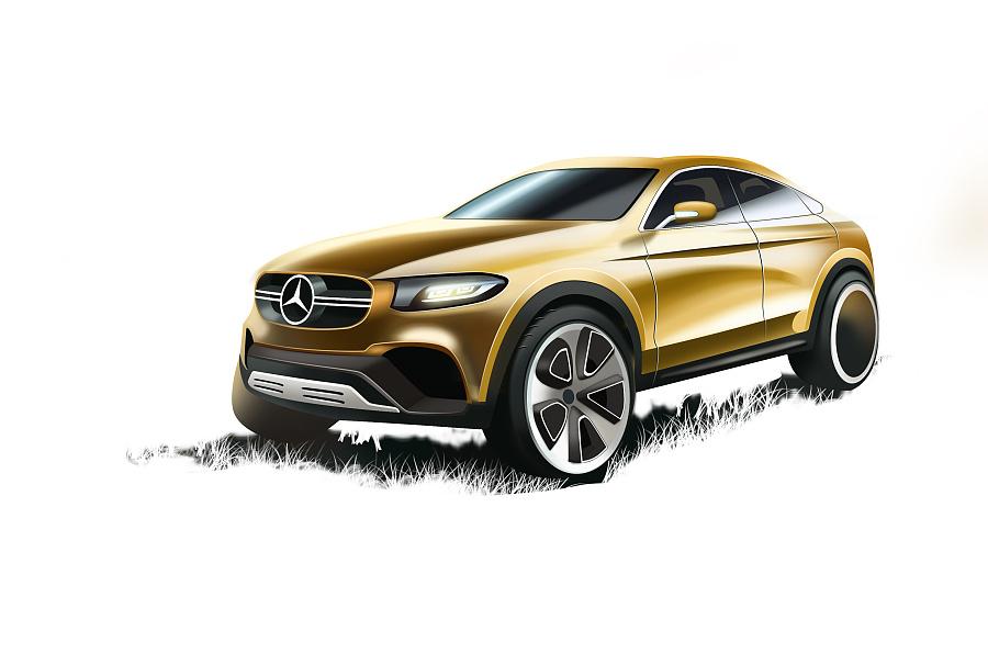原创作品:汽车设计手绘