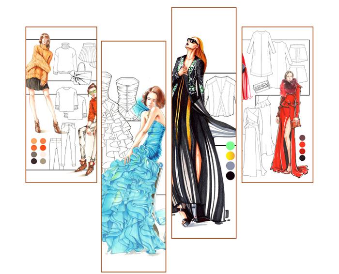 手绘哲:时装设计手绘完全表现技法(绘匠工作室16年新年第一本新书)