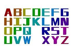 英文字母大小写设计 by x54273x