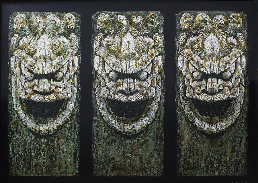 查看《曲健 漆画》原图,原图尺寸:4182x2976
