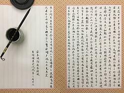 书法日常-行楷:《后赤壁赋》苏 轼