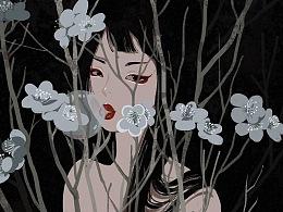 花 × 少女