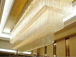 房地产公司酒店宴会厅灯具定制工厂铭星灯饰专业订做
