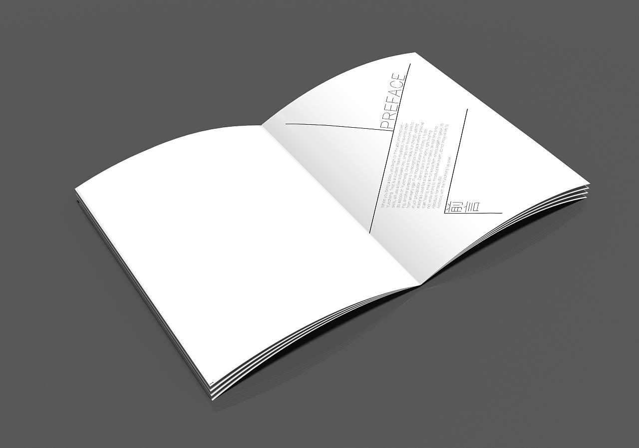 书籍装帧-运城|平面|书装/画册|逃离丶 - 原创作品图片