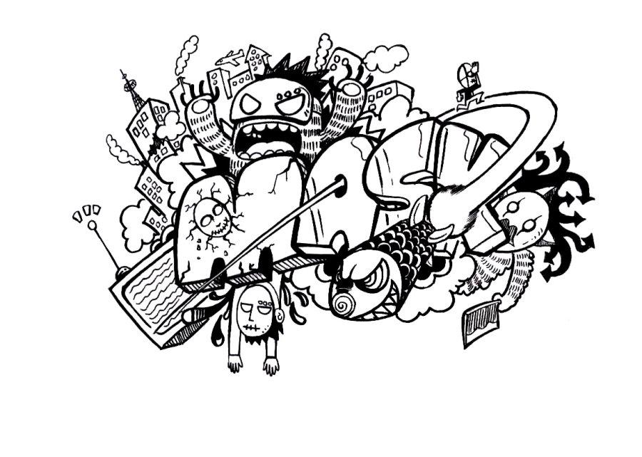 简笔画 设计 矢量 矢量图 手绘 素材 线稿 900_641