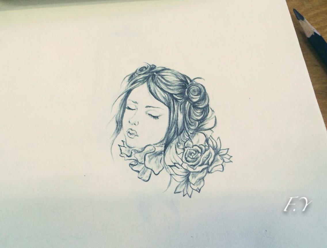 手绘临摹求各路大神指导|插画|插画习作|索菲娅不忧伤