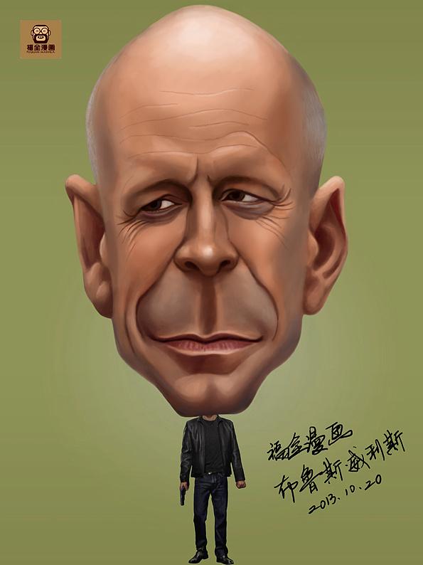 肖像漫画肖像|漫画|明星漫画|福全动漫-绝交作原创漫画图片