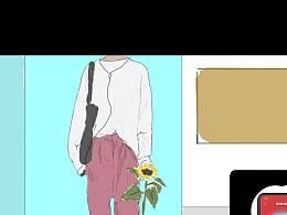 app使用场景插画