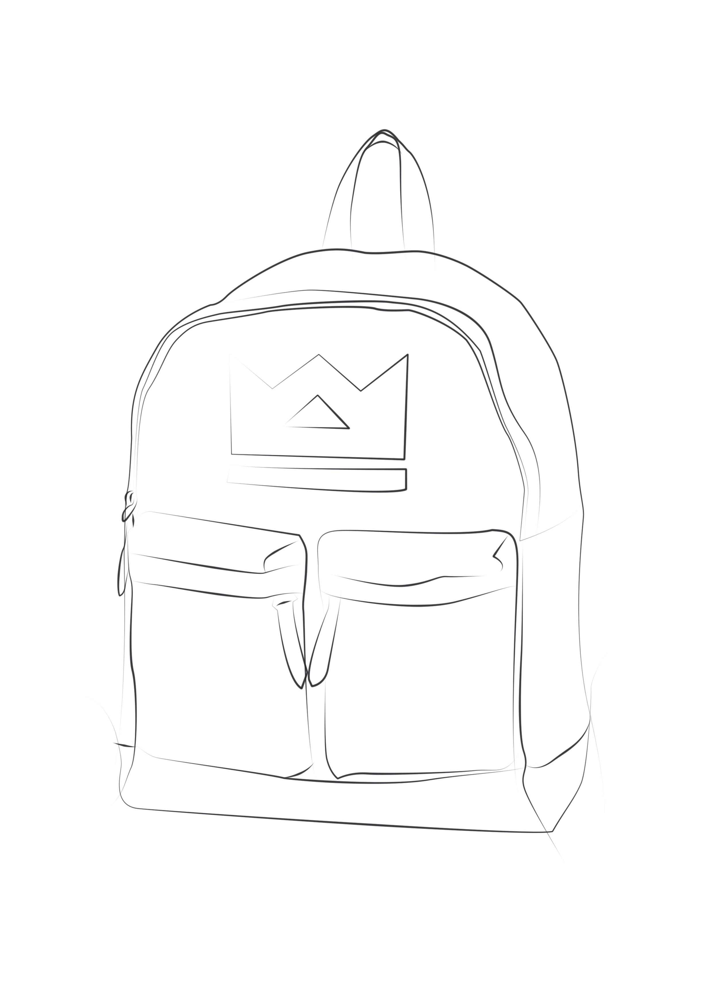 包包手绘效果