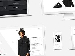 Adidas 官网设计