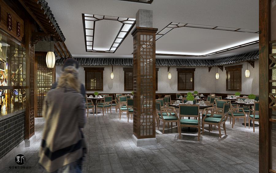夫子庙义顺茶馆|空间|展示设计 |ensoul - 原创作品