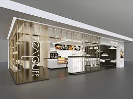 茶初沫(奶茶店)全案设计 - 餐饮设计公司