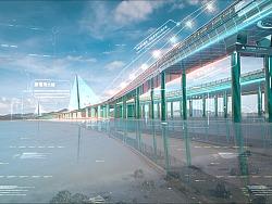 数字城市-深圳湾大桥