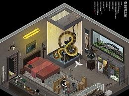 爬室设计图