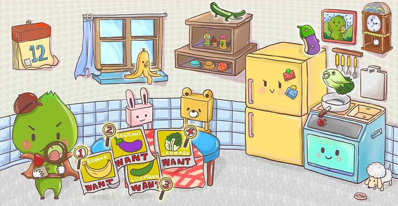 厨房小侦探图片