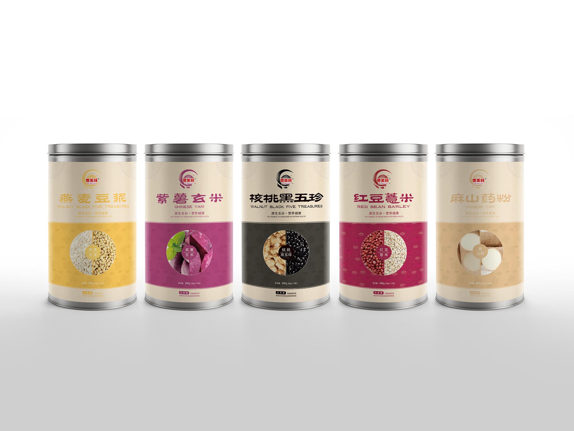 五谷杂粮粉设计【郭包装】【尔闻墨间】北京室内设计总监招聘图片