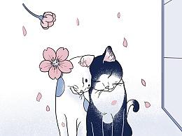 当花开时牵手