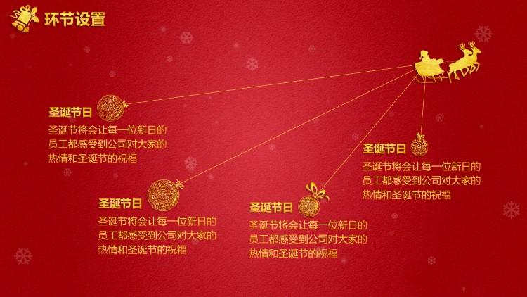 圣诞活动策划方案ppt模板(双色)|ppt/演示|平面|大东