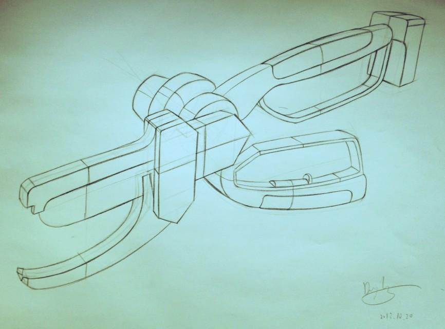手绘—工业设计图|工业用品/机械|工业/产品|namofo