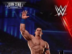 WWE摔跤明星约翰·塞纳1:4比例珍藏雕像