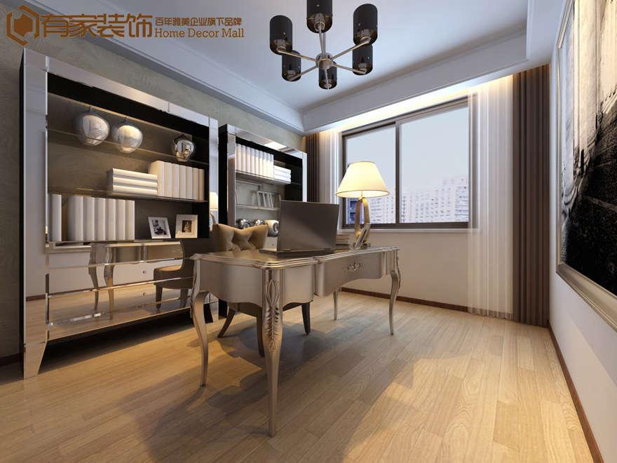 厦门天湖城天源三居室设计现代简约装修效果图|室内