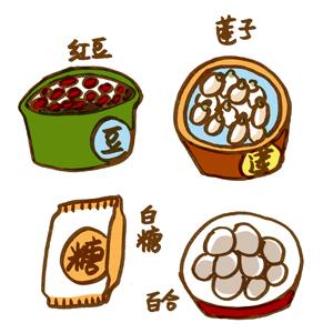 汤奶奶教做饭——红豆莲子羹