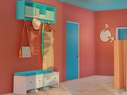 【糖果色·candy color】室内设计