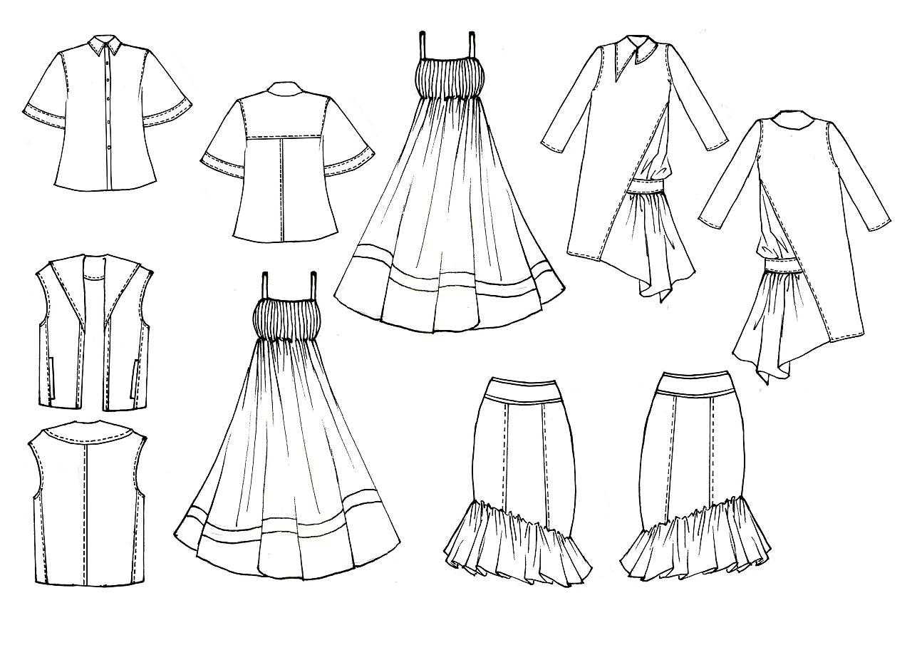 服装款式图