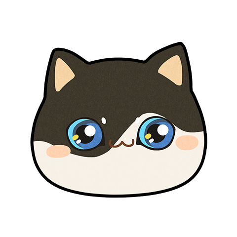 编织小孩猫头花样