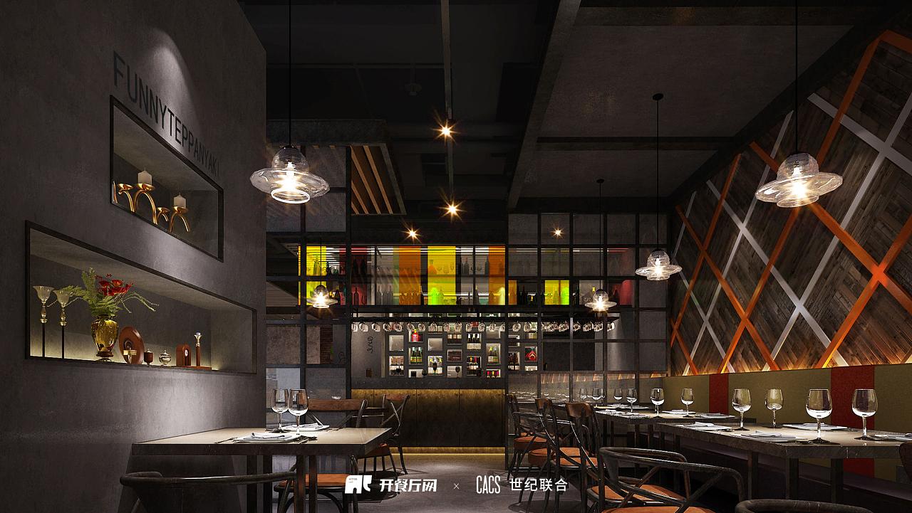 梵廷--西餐厅设计图片
