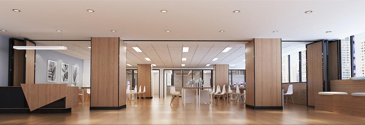 中国教育培训联盟总部创意办公空间设计图片
