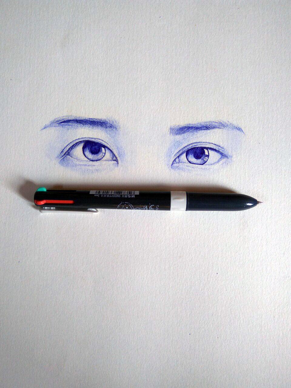 圆珠笔画.