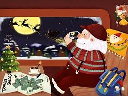 圣诞老爷爷的假期