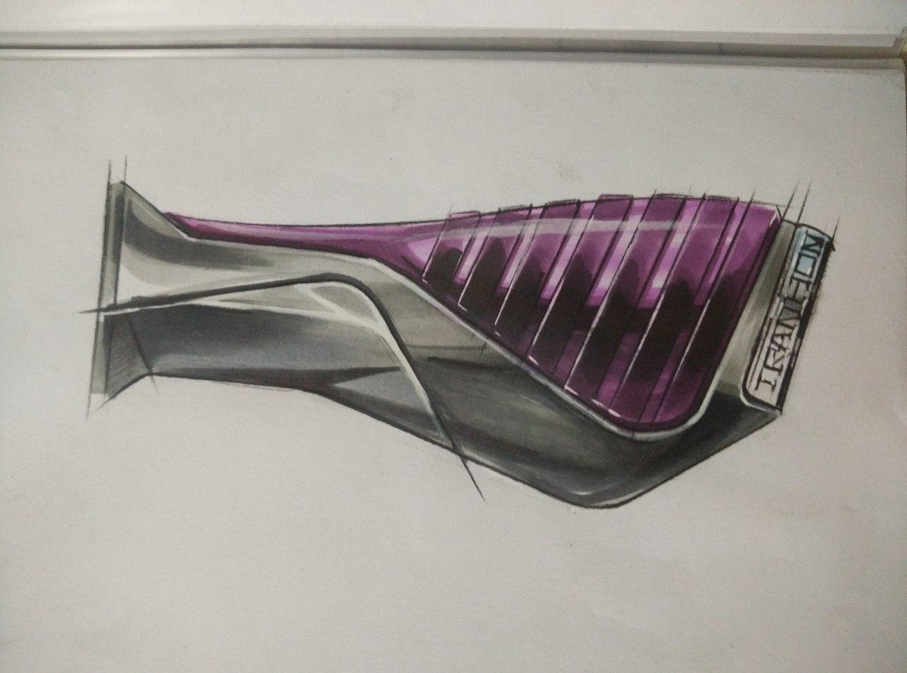 工业产品设计手绘|工业/产品|交通工具|李志鑫 - 原创