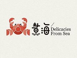 日式海鲜餐饮logo一枚