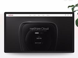 meShare云平台官网视觉设计