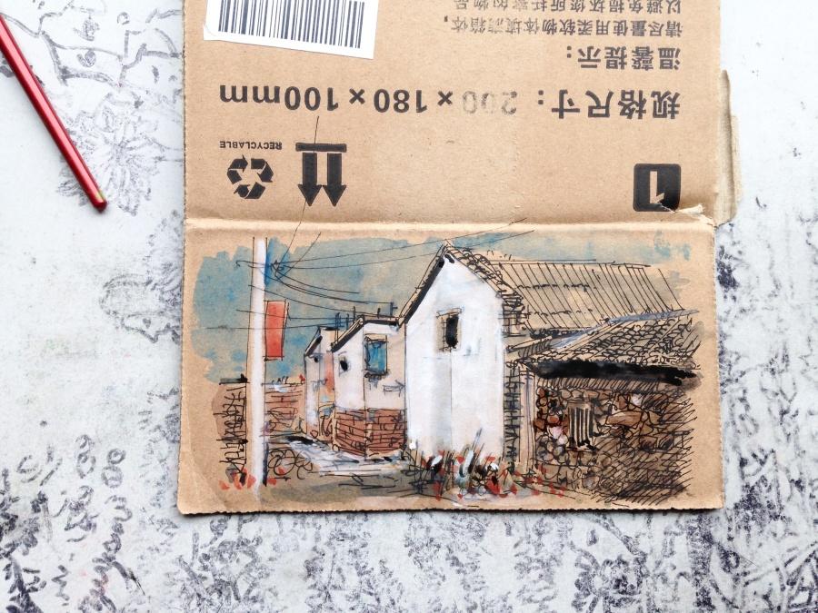 查看《捡捡垃圾,画点小画》原图,原图尺寸:3264x2448