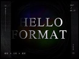 Hello Format
