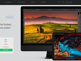 如何在营销材料中使用的iMac视觉稿