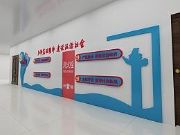 3D文化墙背景墙设计