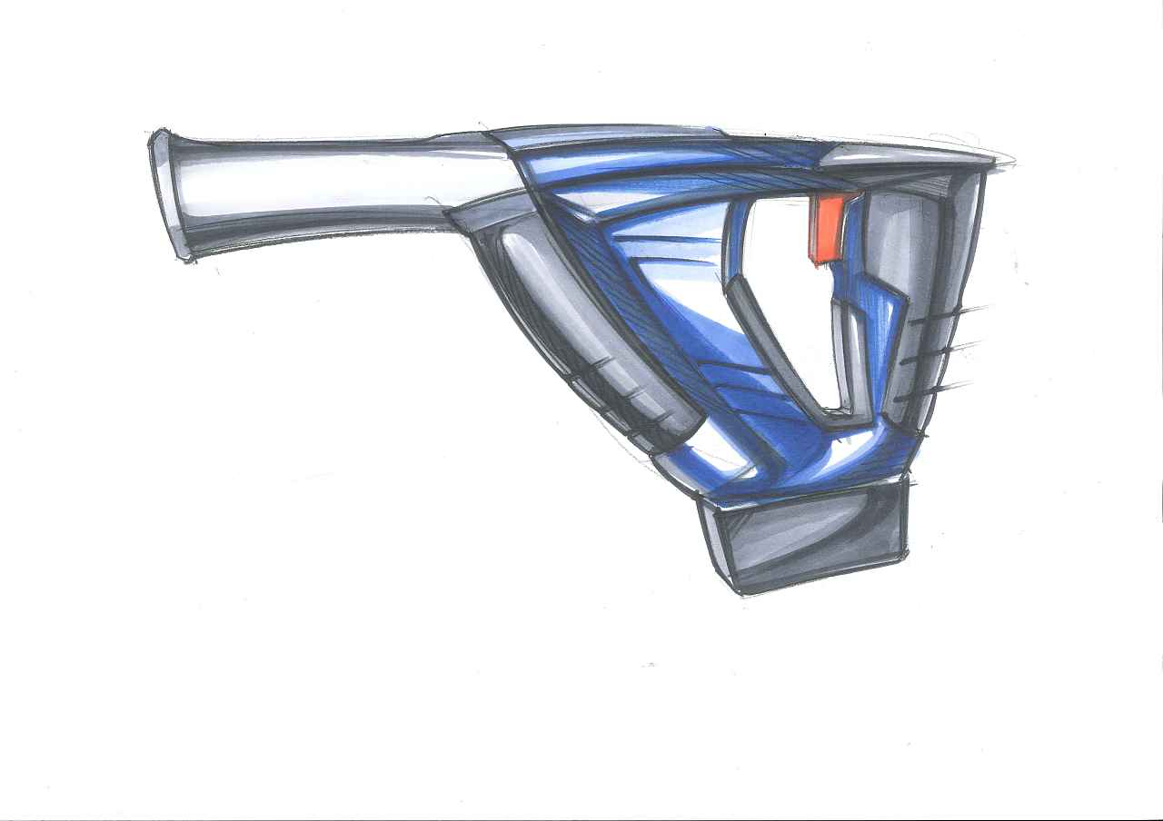 工业设计手绘之电子工具(这篇图多)