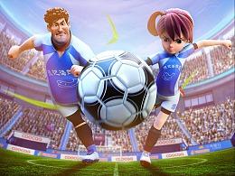 《足球王者》海报