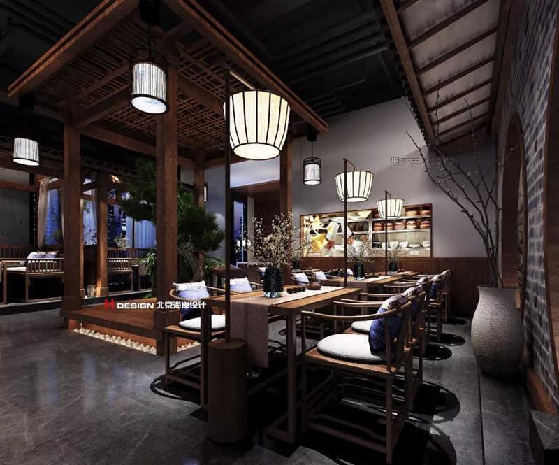贵阳墨府音乐寺庙古风设计餐厅vi设计论文图片