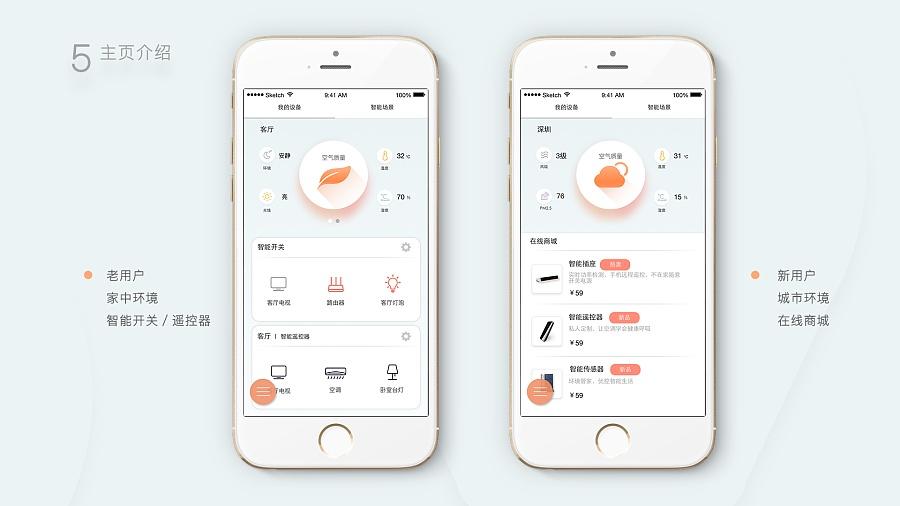 智家居APP设计-LightHome|移动设备/APP界男士韩版潮流网鞋图片